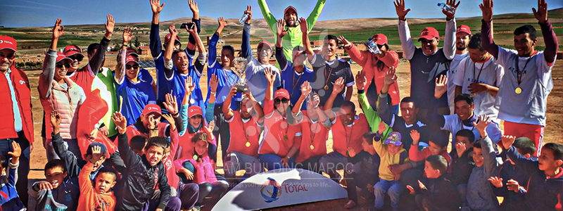 LE TEAM BUILDING SOLIDAIRE <br> GROUPE TOTAL