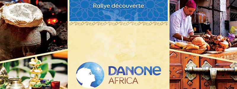 LE RALLYE DES SAVEURS <BR> GROUPE DANONE AFRICA