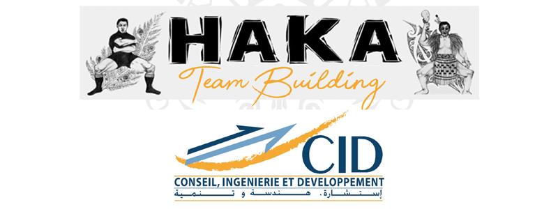 LE TEAM BUILDING HAKA <BR> GROUPE CID